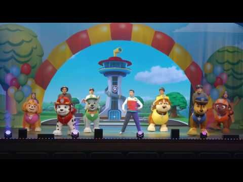 Embedded thumbnail for Paw Patrol - UK tour