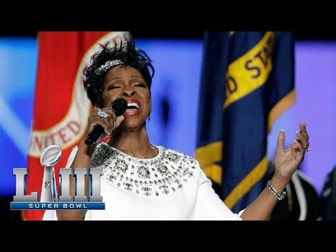 Embedded thumbnail for Gladys Knight at Superbowl