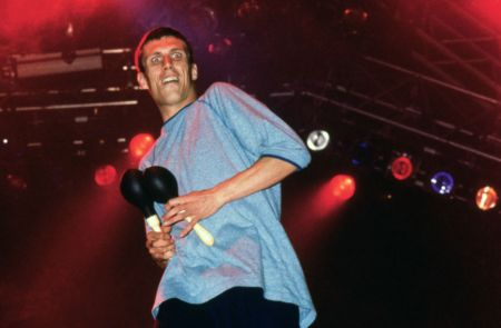 Bez Happy Mondays 1990s Alastair Indge