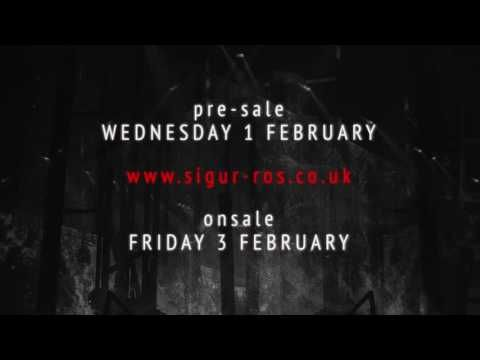 Embedded thumbnail for Sigur Ros - UK Tour