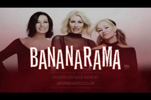 Embedded thumbnail for Bananarama - tour advertisement