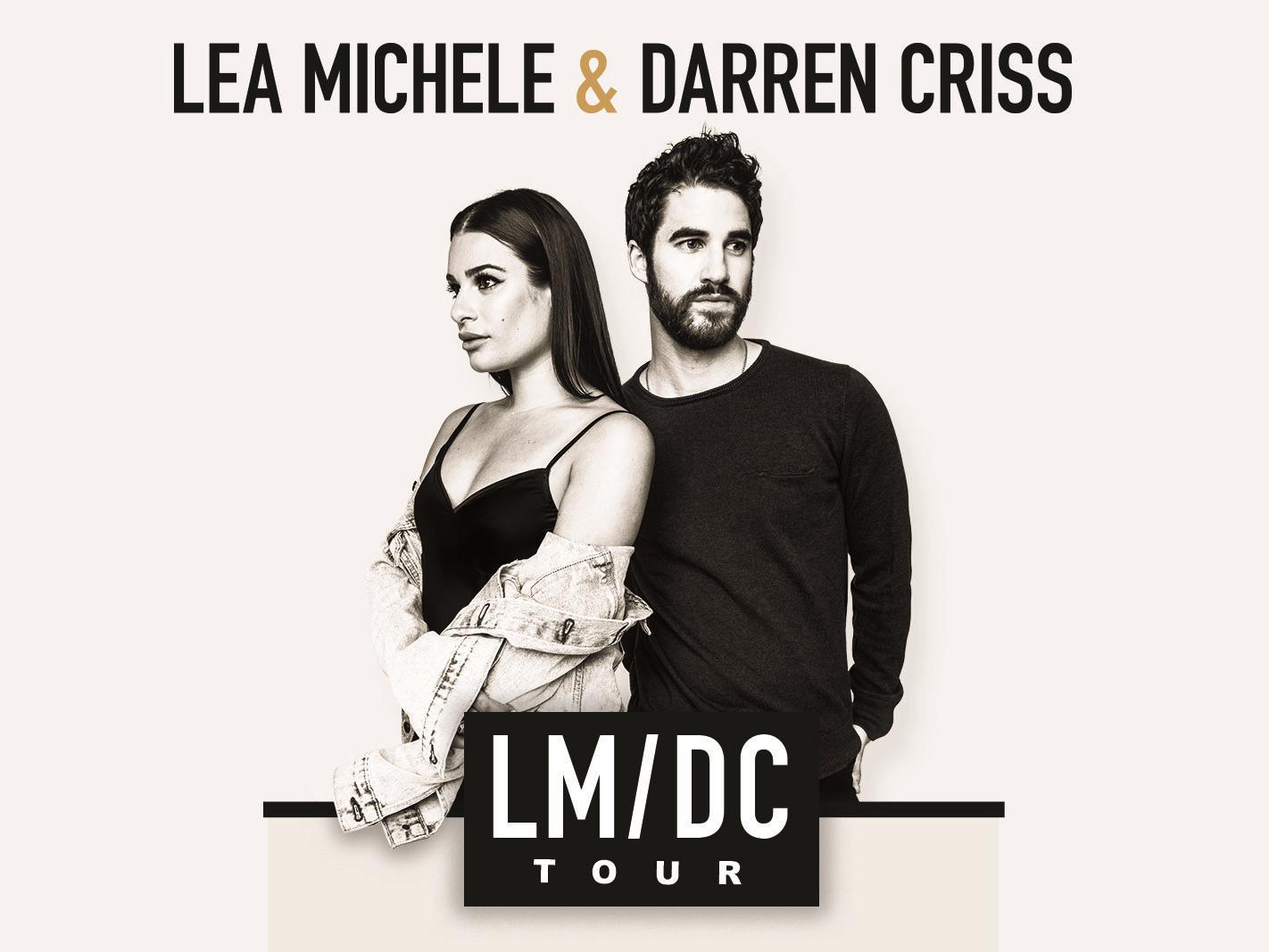 Lea Michele Darren Criss Lmdc Tour Vip Packages Tickets O2