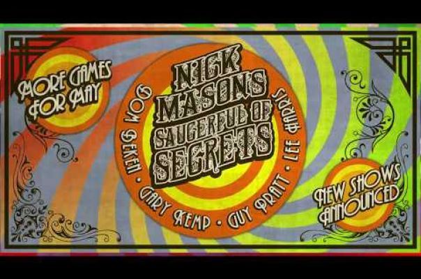 Embedded thumbnail for Nick Mason's Saucerful of Secrets: More Games for May Tour